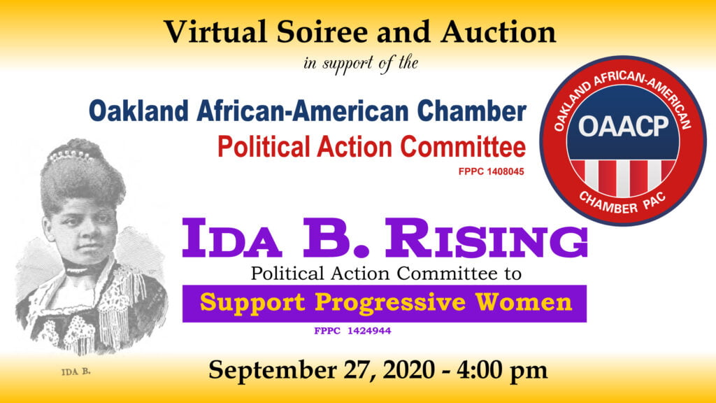 ida b rising fundraiser with date